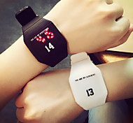 Couple's  Watch Digital  Men Woman Watch Simple Students Watch
