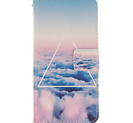 Cloud PU Leather Wallet Full Body Case with Stand for Wiko Wax