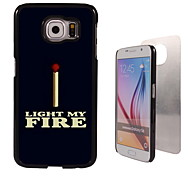 Light My Fire Design Aluminum High Quality Case for Samsung Galaxy S6 SM-G920F