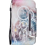 Campanula Pattern Two-in-One PU Leather for Samsung Galaxy Note 3