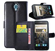 litchi intorno stallo aperto fondina telefono adatto per Alcatel One Touch idolo / ot-6030 ((colori assortiti)