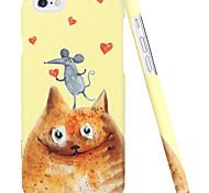 ESR® Illustrators Series Cartoon Cat and Mouse Hard Back Case for iPhone 6 (Mew Squeak Love)
