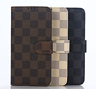 Flip Case Wallet Case  Lattice Lie Fallow Pu  Mobile Phone Shell for Samsung Note5 Assorted Colors