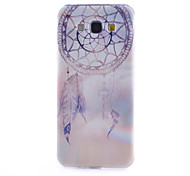 motif de campanules mince matériau TPU étui transparent de téléphone pour Samsung Galaxy a8 / A3 / A5 / A7
