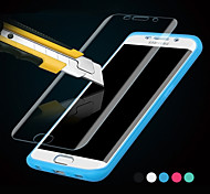 Touch View TPU & Silicone Flip Case for Samsung Galaxy S6 Edge G9250(Assorted Colors)