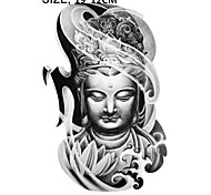 8PCS Armband Temporary Tattoo/Mysterious Women Buddha/Waterproof Big Size Fake Tatoo Sticker Art/Armband,Shank,Chest