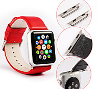 single-buckle,Multicolor Fashion Genuine leather Watchband for Apple iWatch 42mm 38mm