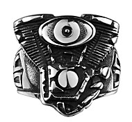 Men's Ring Jewelry Fashion Punk Steel Jewelry For Wedding Party Halloween Daily Casual Sports