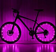 leadbike 20led 2meters aa luz roda / LED falou luz / luzes de segurança / lâmpadas LED / lanternas