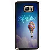 avontuur is daar ontwerpen slanke metalen achterkant van de behuizing voor Samsung Galaxy Note 3 / noot 4 / note 5 / note 5 rand