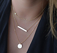 Fine Delicate Layering Necklaces,Layering Necklaces,Bar Necklace,Gold Necklace Clavicle Necklace