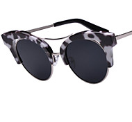 Sonnenbrillen mujeres's Elegant / Modern / Modisch Katzenauge Gold / Grau Sonnenbrillen Vollrandfassung