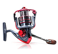 Carrete de la pesca Carretes para pesca spinning 5.2:1 11 Rodamientos de bolas IntercambiablePesca de baitcasting / Pesca en hielo /