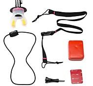 surf apparecchi fissi di collegamento mount set per GoPro eroe 4/3 + / 3/2/1