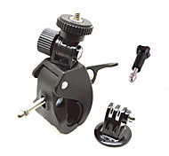 Portable Bicycle Clip + GoPro Adapter+Screw(Not Include GoPro Camera)