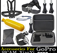 Gopro Accessories Straps / Accessory Kit For Gopro Hero 2 / Gopro Hero 3 / Gopro Hero 3+ / All Gopro / Gopro Hero 4 Floating / Waterproof