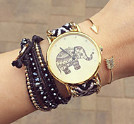 Friendship Elephant Watch, Elephant Watch, Women Watches, Leather Watch, Handmade Watch, Vintage Watch