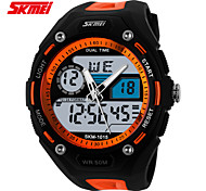 SKMEI Men's Waterproof Luminous Multi-function Electronic Watch Student Sports Outdoor Watch (more colors)