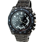 Men's Watches Black Quartz Watch Cool Watch Unique Watch