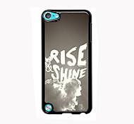 levantar&brilho design de alumínio caso de alta qualidade para o iPod touch 5