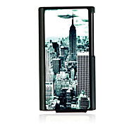 Bustling Metropolis Leather Vein Pattern Hard Case for iPod Nano 7