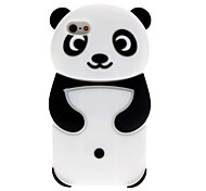 Cartoon Style 3D Panda Pattern Case for iPhone 5C