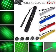 LT - 5mw 532nm Visible Adjustable Beam Cigarette Lighter Point Match Green Laser  Pen Flashlight - Multicolor