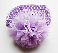 New Baby Girls Lace Headband Chiffon Flower Headband Infant Hair Weave Band Kids Hair Accessories Christmas Gifts
