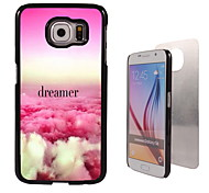 Colorful Dreamer Design Aluminum High Quality Case for Samsung Galaxy S6 Edge G925F