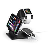2USB universelle Ladestation für iPhone / iPad / apple Uhr (Farbe sortiert)