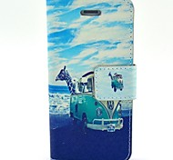 New Painted PU Leather Phone Case Cover for iPhone 4/4S