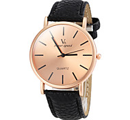 V6® Men's Watch Dress Watch Simple Style Bronze Round Dial Cool Watch Unique Watch