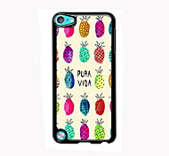 Lovely Pineapple Design Aluminum High Quality Case for iPod Touch 5