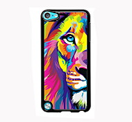 Watercolor Lion Design Aluminum High Quality Case for iPod Touch 5