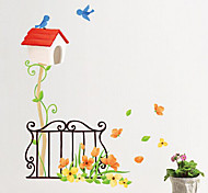 Multifunction DIY PVC Bird Home  Decorative Stickers