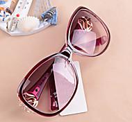 Sunglasses Women's Sports / Fashion Oversized Brown / Purple / Green Sunglasses Full-Rim