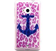 TPU Leopard Feel Comfortable Boat Hook Case for Nokia N435/N535/N640