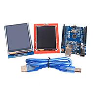 version améliorée uno Module r3 du conseil d'administration de ATmega328P 2,4 pouces et 2,8 pouces module d'affichage TFT LCD tactile pour