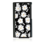 Little Daisy Leather Vein Pattern Hard Case for iPod Nano 7