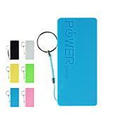 batería externa del banco universal de la energía para el iphone 6/6 más / 5 / 5s / samsung s4 / s5 / Nota 2 (colores surtidos, 5200 mah)