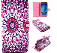 Sunflower Pattern PU Leather Phone Case For Samsung Galaxy A8