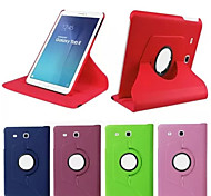 PU Leather Rotate 360 Degrees Cases with Stand  For Galaxy Tab S2 9.7/S2 8.0/A 9.7/A 8.0/E 9.6(ASSorted Color)