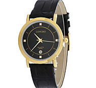 Men Watch Top Brand Genuine Crystal Roman Numerals Business Watch