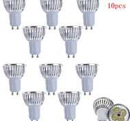 10pcs HRY® 4W GU10/GU5.3/E27/E14 450LM Light LED Spot Lights(90-260V)