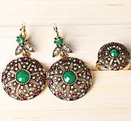 Z&X® Western Style Palace Vintage Alloy Jewelry Set Party/Casual 1set