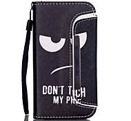 Augenmuster zwei-in-one-PU-Leder für iPhone 5/5 s