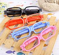 Glasses 2 Ball Pens Novelty Kids Toys School Office Gift Cute Cartoon Stationery(2PCS Random Color)