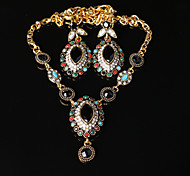 Z&X® Alloy Western Style Fashion Vintage Jewelry Set Party/Casual 1set