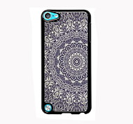 Elegant Flower Design Aluminum High Quality Case for iPod Touch 5