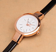 The Latest Hot Models Simple And Elegant Women's Fashion Fine Leather Strap Quartz Watch Cool Watches Unique Watches